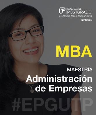 MBA Administración de empresas EPG UTP